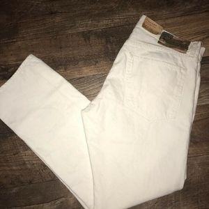 Ralph Lauren Denim Supply 33x32 mens White Jeans